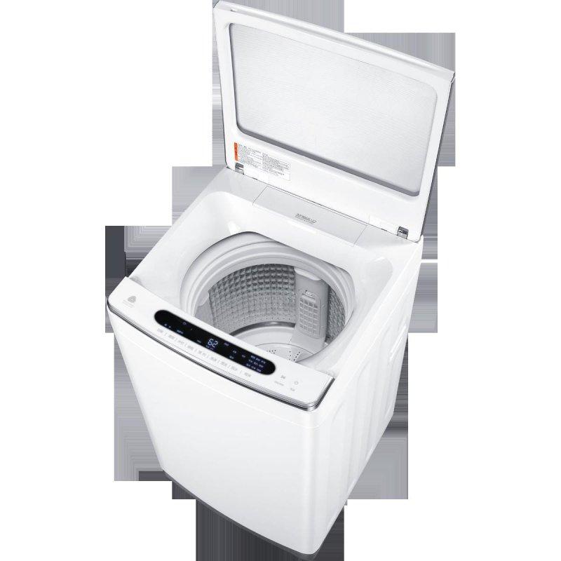 海尔 免清洗洗衣机 ems85bzu128w