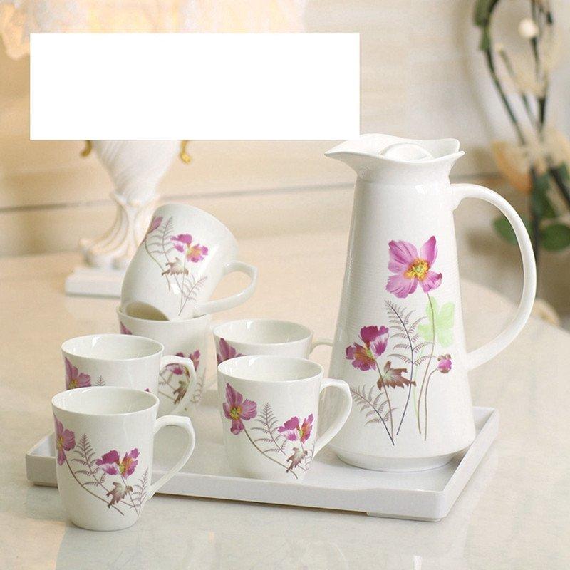 大润窑 水具陶瓷凉水壶水杯套装创意陶瓷冷水壶茶具水杯具套装图片