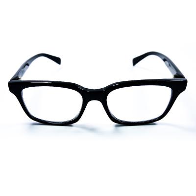 孔雀屏 防藍光眼鏡 光學防近視護眼防指紋防油污眼鏡 防眩光 防散光 抗疲勞 抗眼澀 防輻射眼鏡 磨砂銀方型全框眼鏡輕薄款