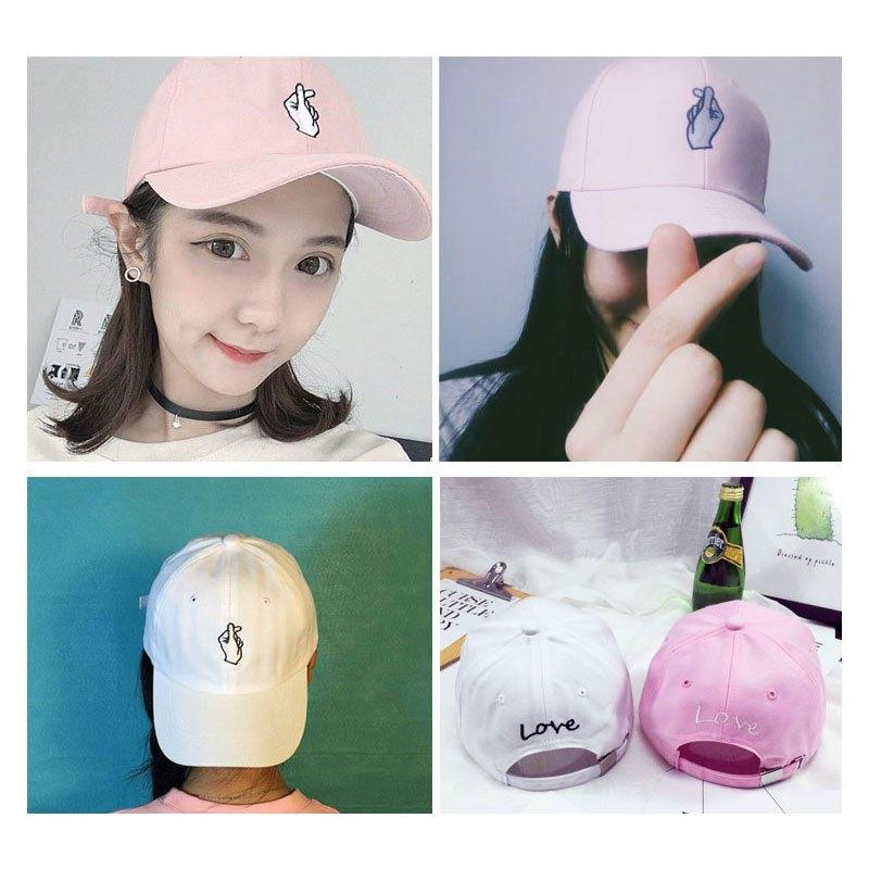 可爱卡通刺绣鸭舌帽休闲百搭棒球帽女生白色帽子休闲百搭棒球帽鸭舌帽