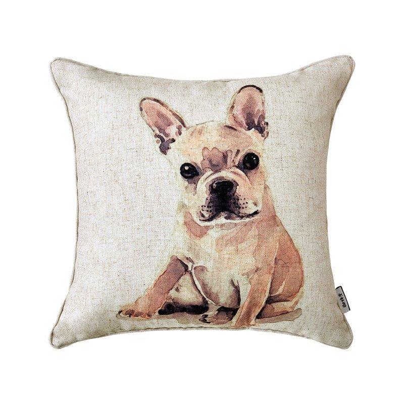 全棉沙发车载抱枕办公室靠垫床头靠枕卡通午休靠枕可爱动物萌萌哒