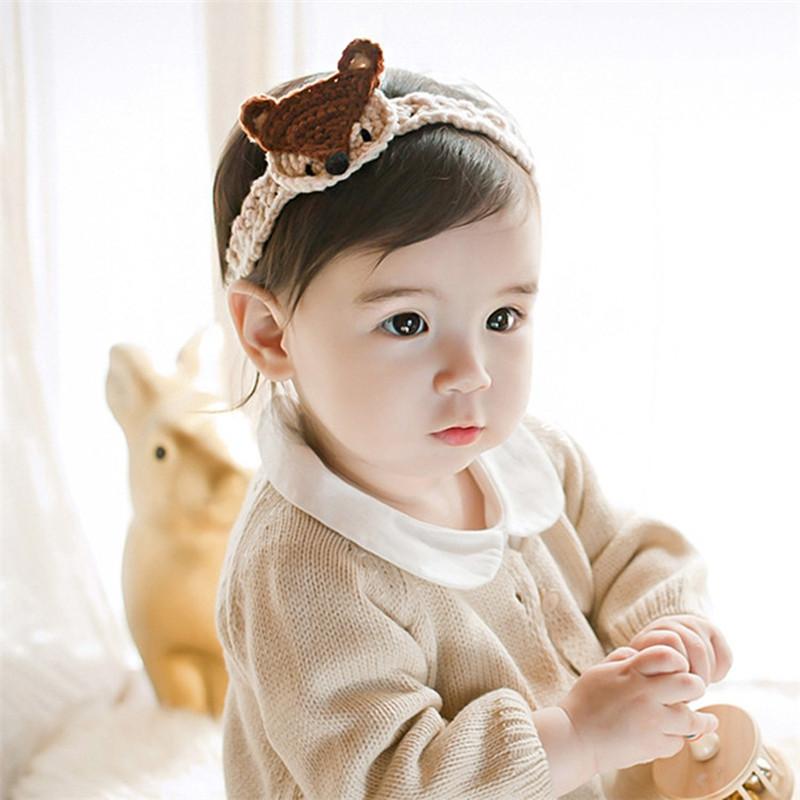 韩版婴儿发带 夏季可爱小狐狸宝宝头饰头花 男女儿童小孩发饰公主拍照