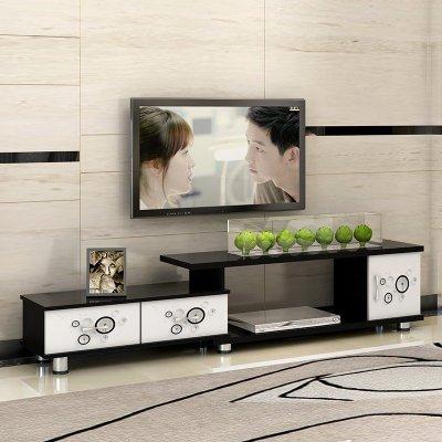 众淘家用简约现代电视柜欧式伸缩卧室小户型客厅电视