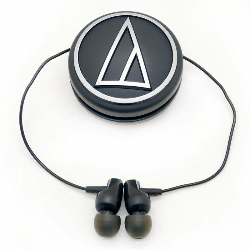 铁三角(audio-technica)ath-clr100bk耳机入耳式v耳机垒球电脑功晖黑色图片