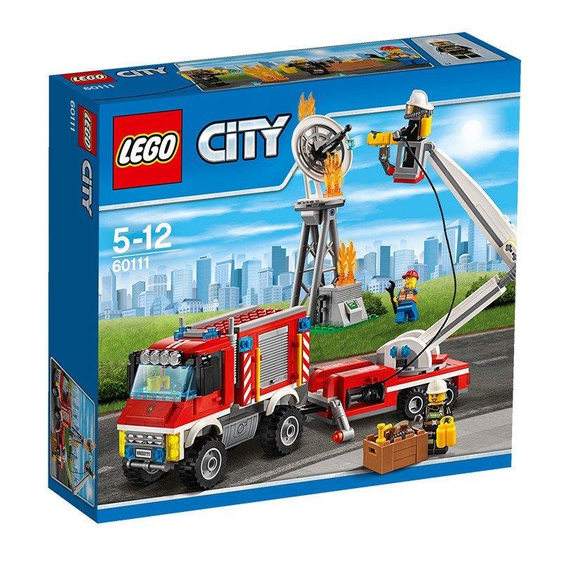 lego乐高 城市系列 60111 重型消防车 lego city 积木
