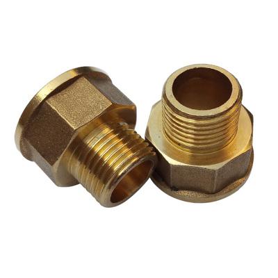幫客材配 安居士全銅 銅變徑直接 1寸變6分內外牙直接 滿10個包郵