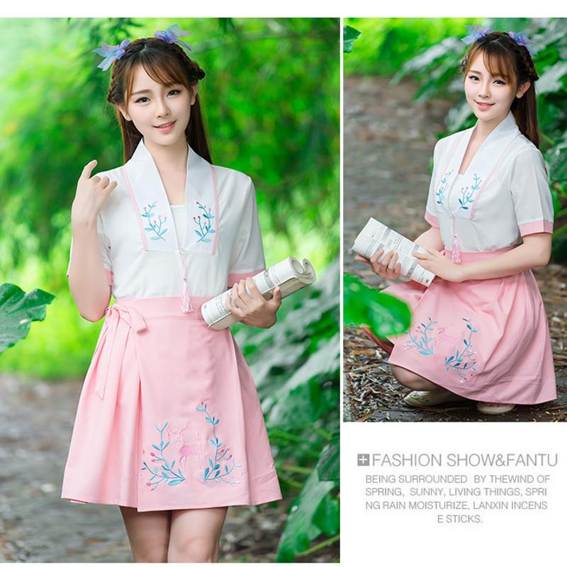 蔚缇2016夏季中国风原创设计改良汉服对襟系带复古汉元素上衣