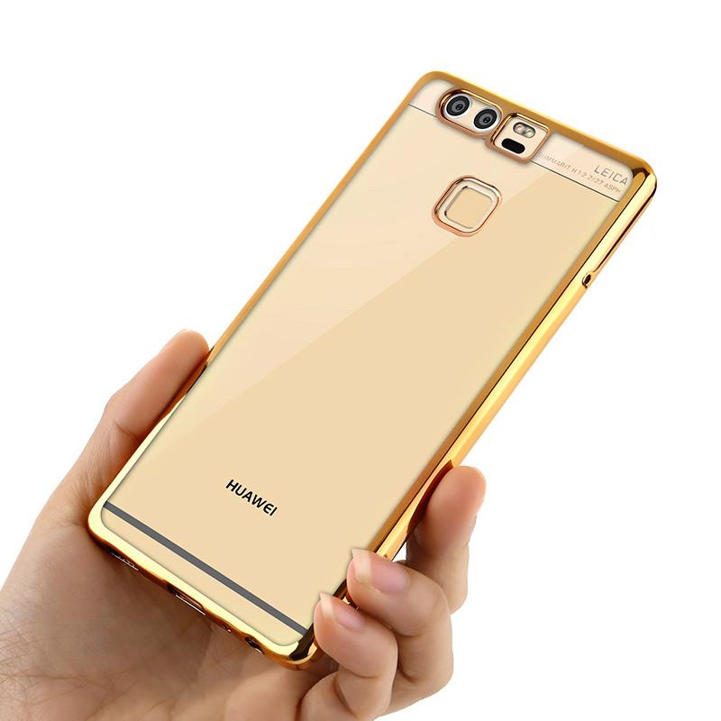 欧雷柏 华为p9电镀手机壳 p9 plus电镀手机软壳 后盖式手机套