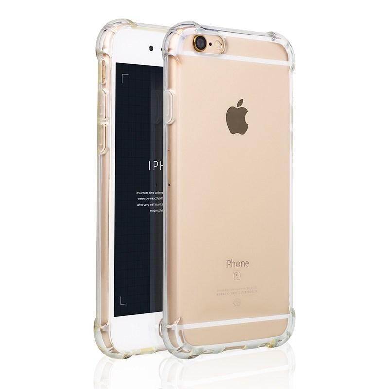 欧雷柏 苹果7手机壳 苹果iphone6s/7plus气囊防摔透明