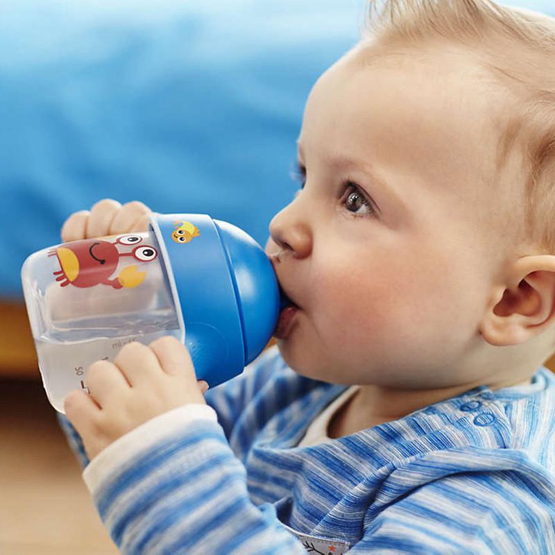 飞利浦新安怡卡通企鹅杯 防漏宝宝学饮水杯 儿童喝水杯 鸭嘴杯 scf753