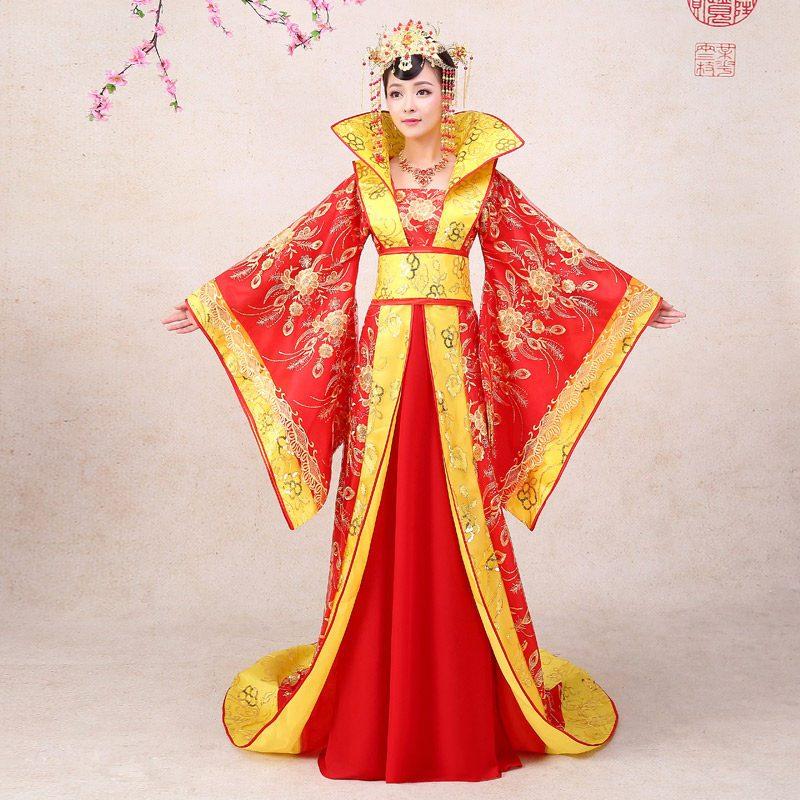 租赁女士古代服装 紫色古代公主服装图片
