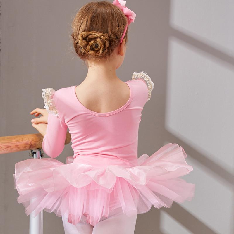 儿童舞蹈服装女童芭蕾舞裙幼儿练功服少儿体操演出服跳舞服