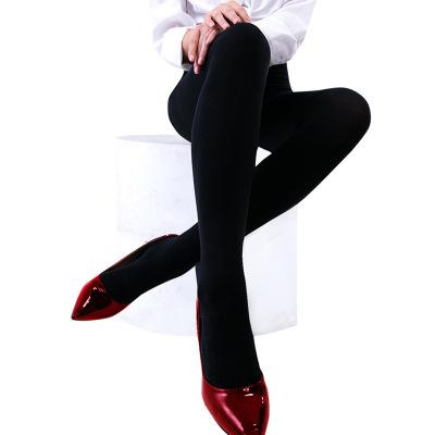 新款连裤袜280D天鹅绒防勾丝打底裤春秋肉色保暖袜子女