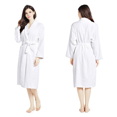 紫运蝶纯棉浴袍睡袍全棉情侣浴衣浴袍女士睡衣----XL....
