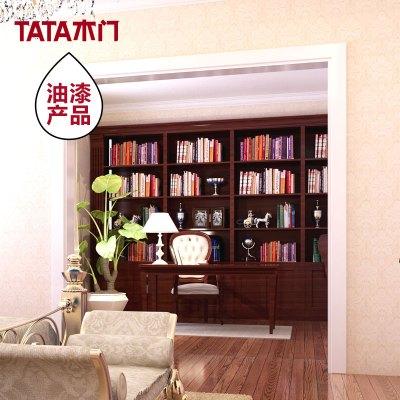 TATA木门 油漆款式 混油白色垭口 精装工艺 垭口 多色可选