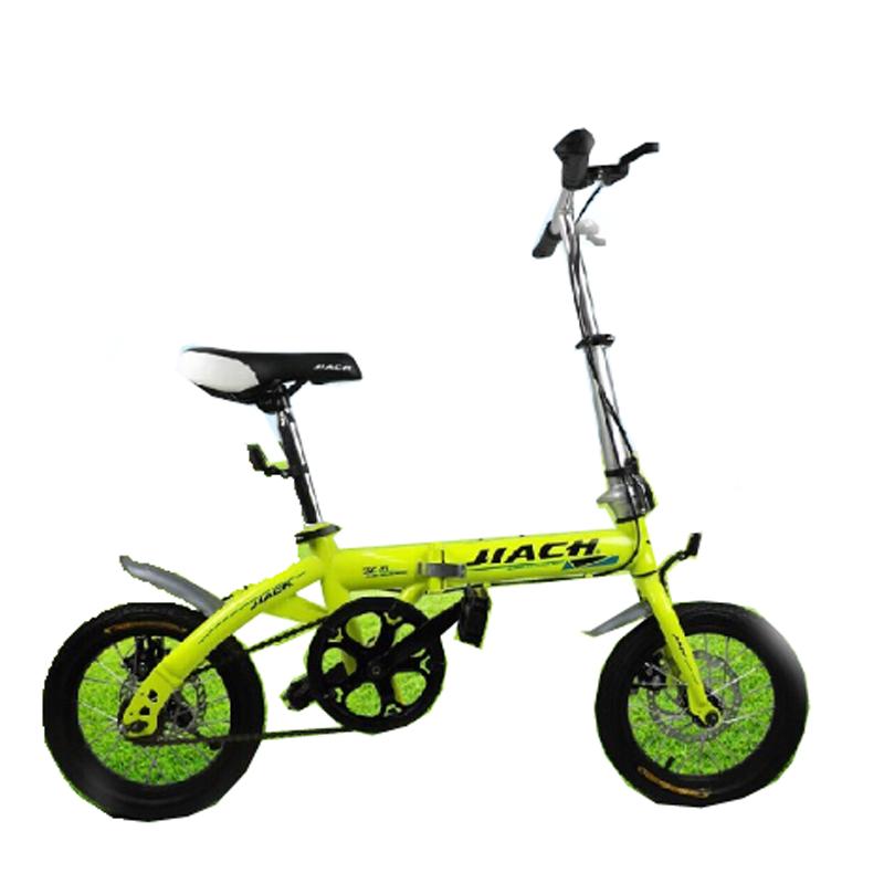 14寸迷你便携成人折叠自行车男女式儿童单车双折学生单车