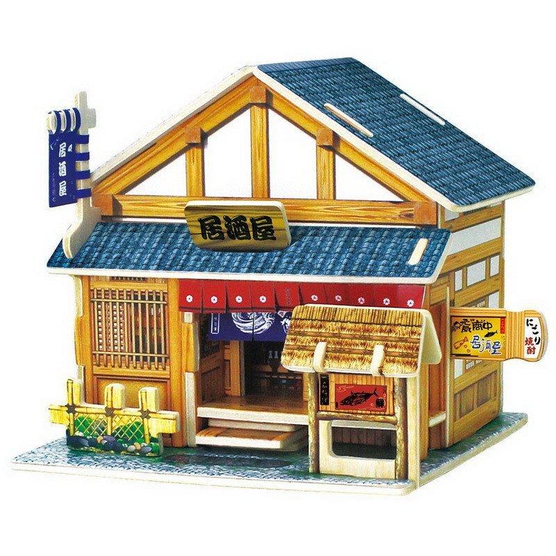 儿童仿真益智拼插积木拼图玩具 成人生日礼品闺蜜情人创意礼物 日本