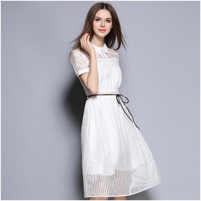 蕾丝连衣裙内衬