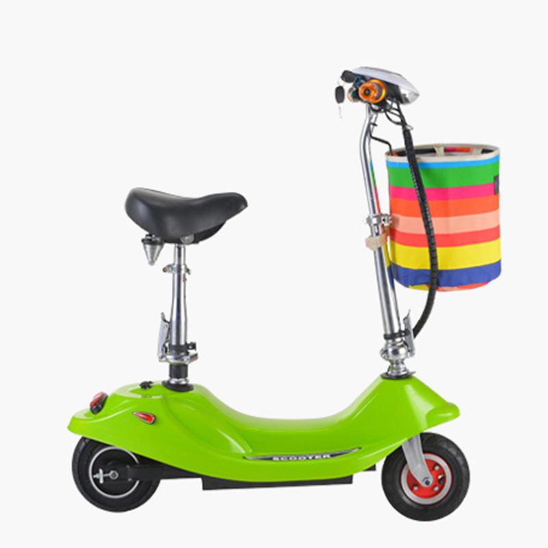 迷你折叠车 都市小巧女士电动车自行车代步车电瓶车爬坡