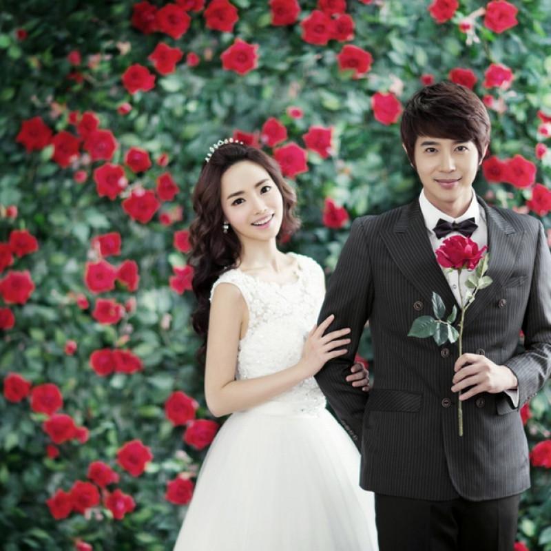 上海拍婚纱照_[上海]韩国iu视觉3988元婚纱照