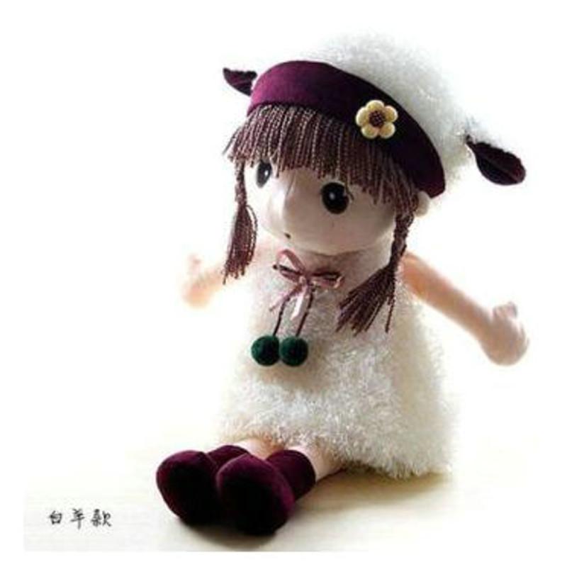 可爱卡通童话菲儿公主布娃娃儿童玩具公仔洋