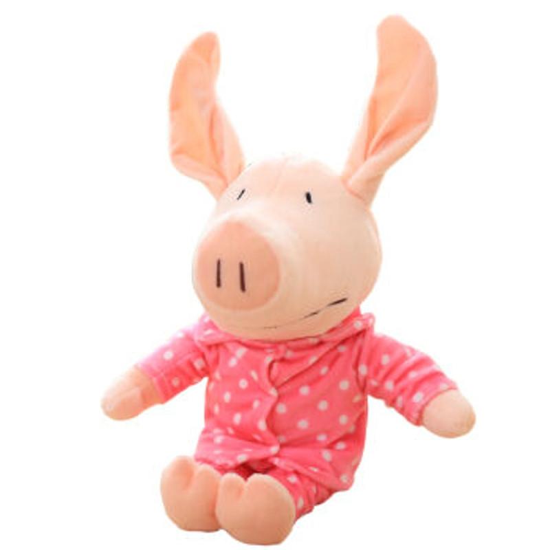 笑萌 毛绒玩具公仔萌小猪布娃娃创意长耳小猪可爱玩偶