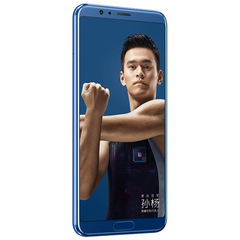 荣耀V10 全网通标配版 4GB 64GB对比华为畅享8 Plus