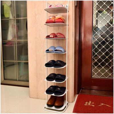 特价包邮欧式铁艺鞋架七八层创意多层鞋架客厅小鞋柜