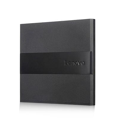 联想(Lenovo)DB75 Plus笔记本电脑外置光驱USB外置DVD刻录机/黑色