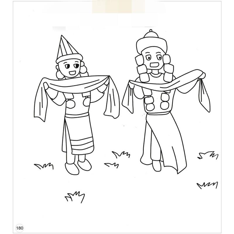 亲子互动 简单 益智 人物简笔画 幼儿练习画画书本 幼儿图书 绘画图片