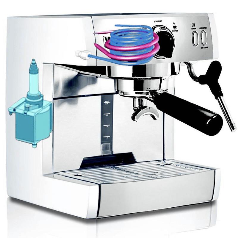 咖啡机蒸汽