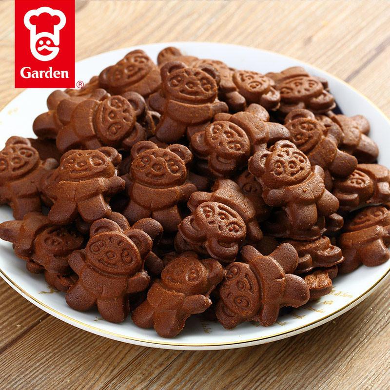 【中华特色馆扬州馆】嘉顿bb熊手指可爱趣味饼干儿童饼干儿童零食100