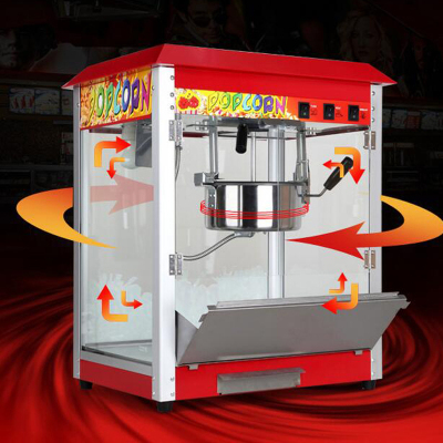 商用爆米花机全自动玉米爆米花机器爆谷机原材料全自动家用