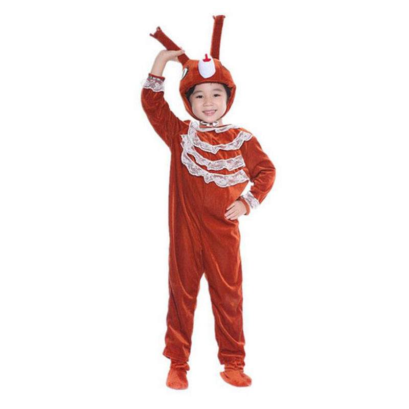 六一袋鼠儿童动物2016新款时尚舞台话剧表演服生日礼物跳跳鼠幼儿玩