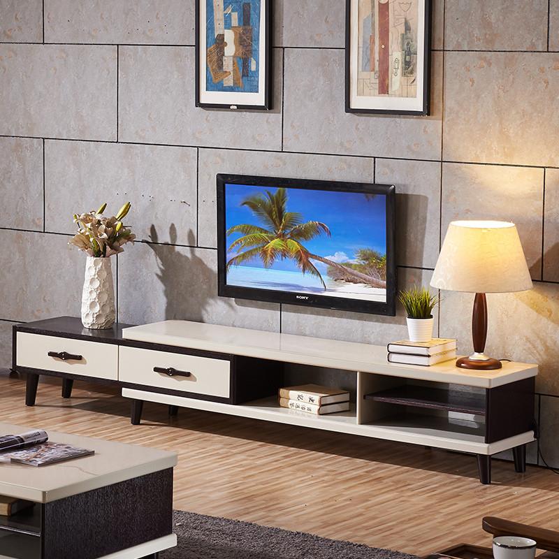 电视柜组合 伸缩茶几电视柜客厅组合图片