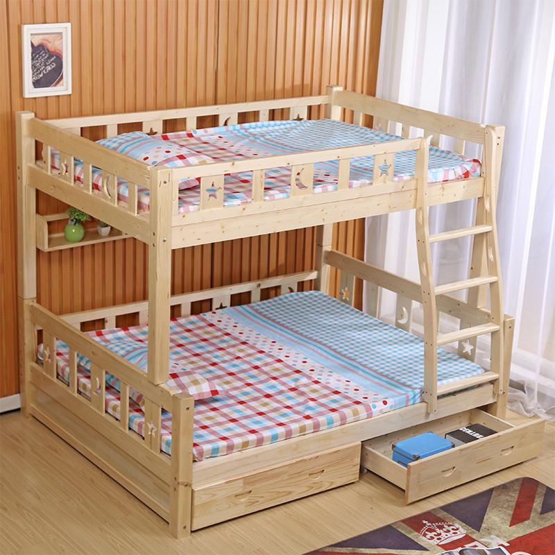 床儿童高低床组合床 可以拆分床高架床 成人床 幼儿园床定做床学生床