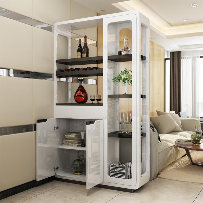 伊萊菲爾 客廳玄關柜酒柜 雙面酒柜隔斷門廳柜 簡約現代門廳屏風柜