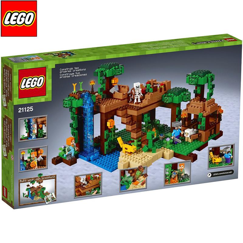 正版乐高lego 我的世界系列 21125 我的世界丛林树屋图片
