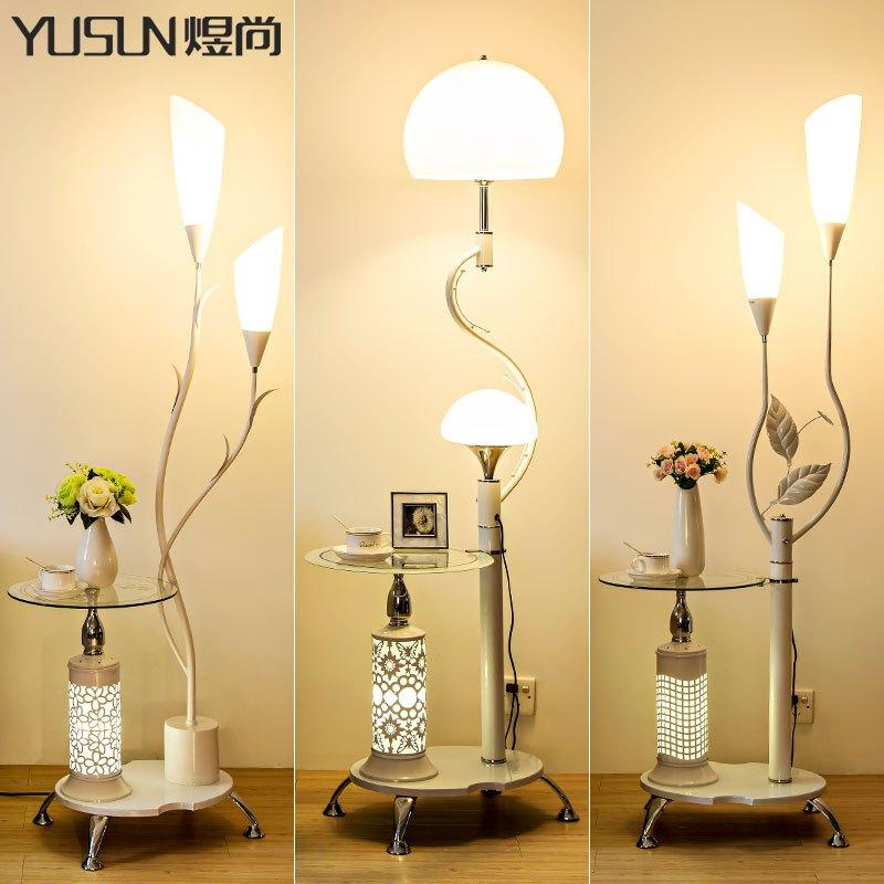 落地灯卧室简约现代书房客厅灯具两用欧式子母灯办公学习灯具
