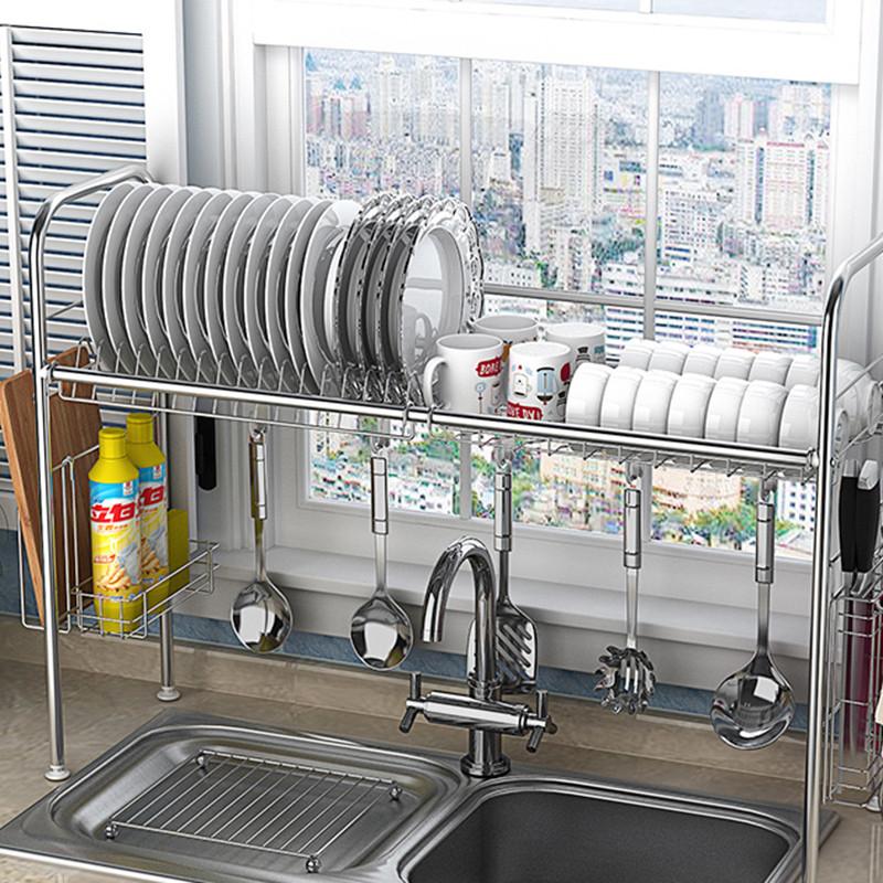 不锈钢碗架水槽沥水架厨房置物架用品用具收纳架碗碟架图片