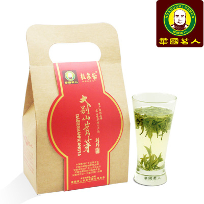 华国茗别山霍山黄芽茶叶 2019新茶 黄茶 袋装100克