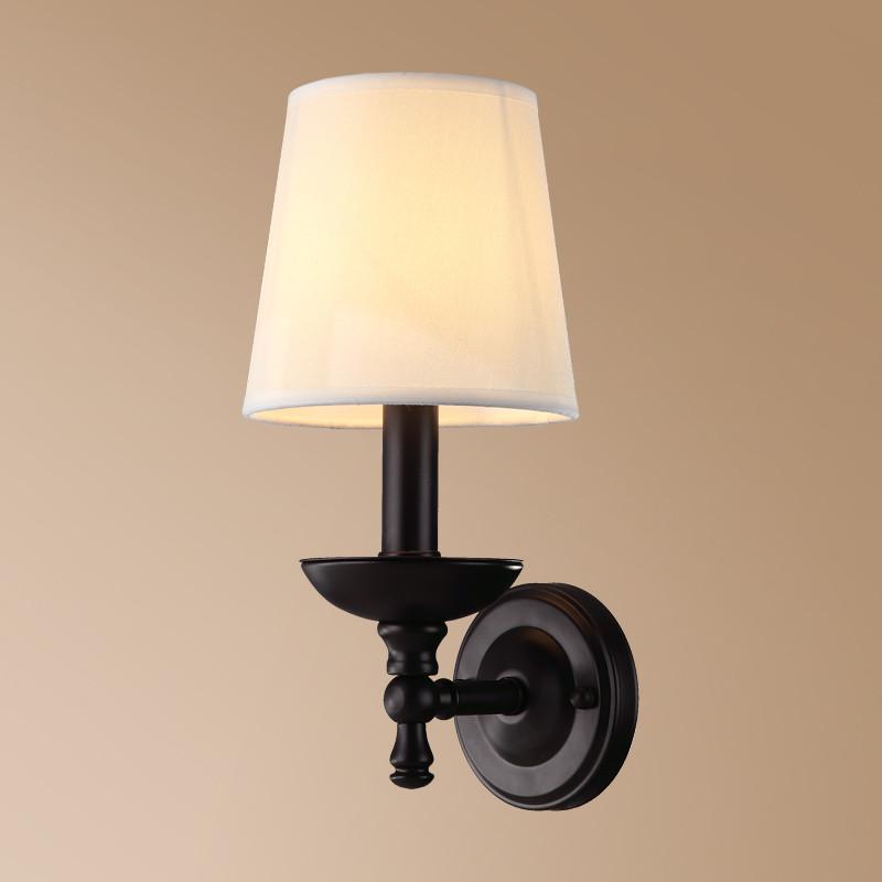 名斯 壁灯客厅灯卧室床头灯美式简约现代过道走廊灯具