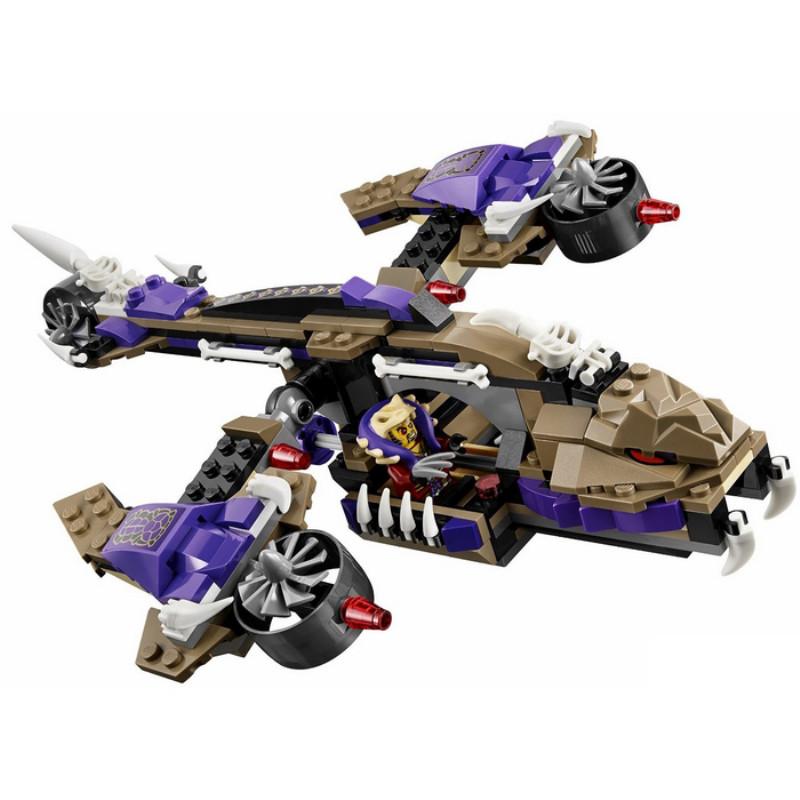 正版乐高狂蟒掠夺者直升飞机玩具70746幻影忍者系列早教拼插积木