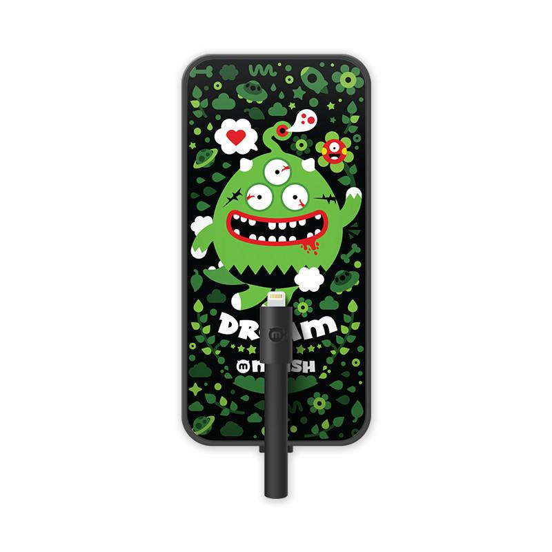 黑鱼 苹果iphone678s/p充电宝 时尚迷你创意小可爱便携超薄安卓type_c