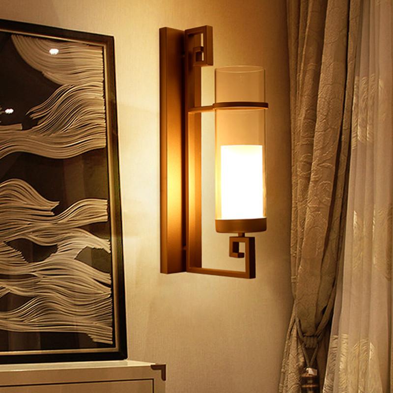 海斯锐 壁灯客厅现代新中式卧室床头壁灯餐厅吧台书房