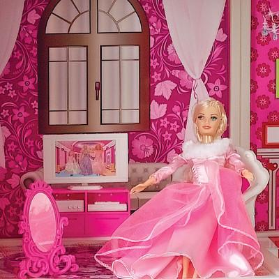 怎样给芭比娃娃做床?