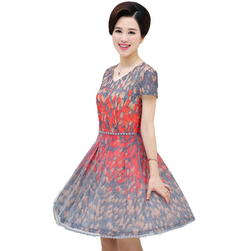宽松雪纺裙