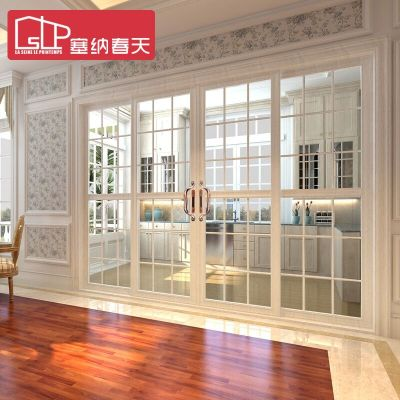 塞納春天推拉門廚衛門鈦鎂鋁合金玻璃門 廚房衛生間門型號 1101