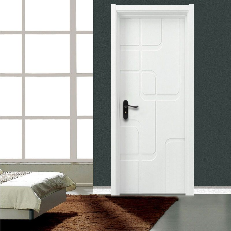 塞纳春天木门造型门室内门套装门烤漆房门卧室门个性时尚款型号230