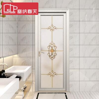 塞纳春天钛镁合金门 厨房卫生间门玻璃门平开门 9512